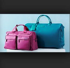Lipault's colorful luggage #womens #luggage