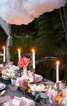 Tablescape ~ Pink