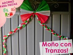 @xoOlexiitOo❥Adorno para fiestas Patrias: Moño con Trenzas (Cadena/Moño ...
