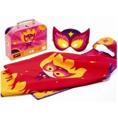 Buy Djeco Girls Super Hero Costume In Super Cool Case Product Online Australia | No i Deer Gifts