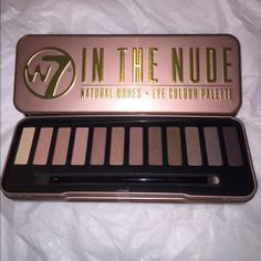 % Authentic W7 Nude Palette. Sealed. Brand new palette. I have one left!! W7 Makeup Eyeshadow