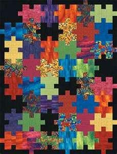 Puzzle quilt!