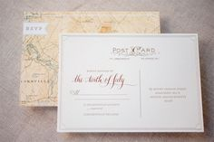Kate + Cleon's Romantic Rose Gold Foil Wedding Invitations by Gus Ruby Letterpress | gusandruby.com