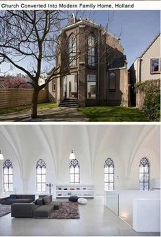 Church converted into home