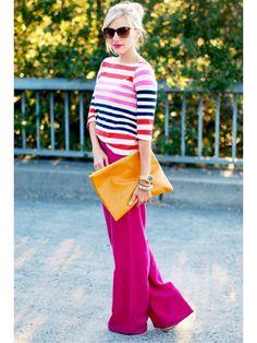 striped colorful love