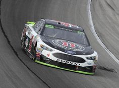 Kevin Harvick, driver of the #4 Jimmy John's Ford, races during the Monster Energy NASCAR Cup Series Tales of the Turtles 400 at Chicagoland Speedway on September 17, 2017 in Joliet, Illinois.