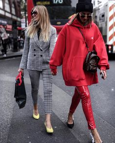 "10k Likes, 240 Comments - A Y L I N   K O E N I G (@aylin_koenig) on Instagram: ""two Germans in London ‍♀️ before the @topshop show  @xeniaoverdose #lfw #aylinkoenigtravels…"""