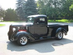 1937 through 1946 chevy pickups - My favorite classics I am a 37 owner! Classic Pickup Trucks, Chevy Pickup Trucks, Chevy Pickups, Chevrolet Trucks, Dodge Trucks, Antique Trucks, Vintage Trucks, Hot Rod Trucks, Cool Trucks