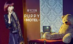 Wycon Puppy Motel, linea trucco anni '40 - https://www.beautydea.it/wycon-puppy-motel-linea-trucco-anni-40/ - Una linea make up dal sapore vintage con un pizzico di horror: ecco la strepitosa Puppy Motel Collection Wycon!