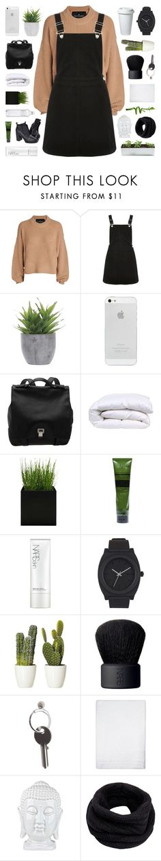 """Yuletide"" by bosspresident ❤ liked on Polyvore featuring Designers Remix, Oasis, Lux-Art Silks, Proenza Schouler, Cheap Monday, Aesop, NARS Cosmetics, Nixon, Maison Margiela and Simple Life"