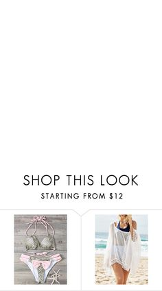 """Beach style 14"" by barbara-996 ❤ liked on Polyvore featuring rosegal"