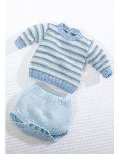 Modèle Culotte CB10-58 - Patron tricot gratuit