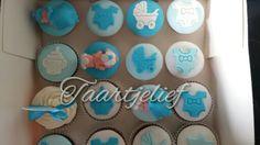 Babyshower cupcake's