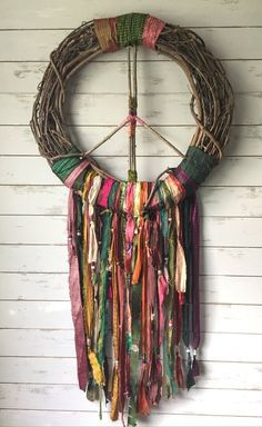 Items similar to Peace Sign Wreath, Gypsy Boho Wall Decor, Dreamcatcher Fall Wreath, Hippie Housewarming Gift on Etsy - Décor Boho, Boho Diy, Bohemian Decor, Gypsy Decor, Boho Style, Diy Arts And Crafts, Crafts To Sell, Diy Crafts, Resin Crafts