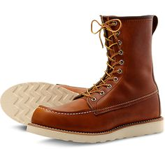 Red Wing CLassic Moc Style No. 877