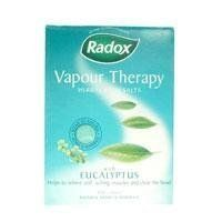 Radox Vapour Therapy Bath Salts 400g by Radox. $16.33. Radox - that's better! Radox vapor therapy bath salts with eucalyptus helps to relief aching muscles and clear the head. Radox is packed full of natural herbs to provide the sensual stimulation you want.