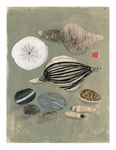 Manon Gauthier - Art print - Coquillages - Sur ton mur - 1