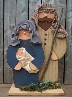 Wood Nativity Scene Craft