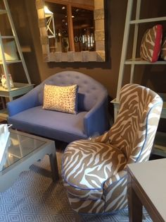 New from oomph! The Savannah Sofa and Chair, the Charleston 42 coffee table, and our gorgeous new mirror!