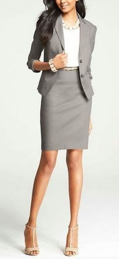 Great 2 piece look for the office or the board room
