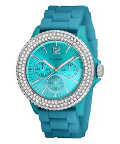 Blue & Silver Crystal Watch add to my favorites Vernier  $24.99