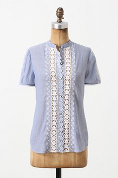Bluebottle Blouse via Anthropologie