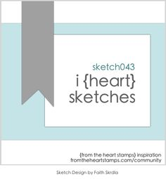 FTHS I {heart} Card Sketches #43 | Images By Heather M's Blog