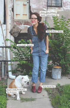I thought overalls were only cool in the 90s...but I am really digging these Madewell ones!