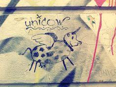 Die #Unicow #Streetart #Berlin