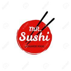 Sushi Icône Du Logo Clip Art Libres De Droits , Vecteurs Et Illustration. Image 46909295.