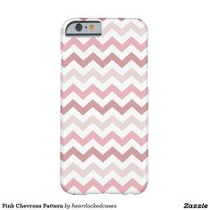 Pink Chevrons Pattern Barely There iPhone 6 Case