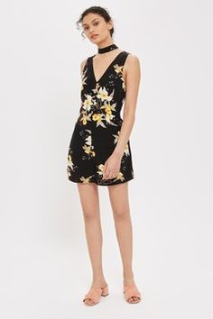 Daffodil Choker Playsuit