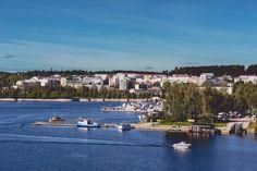 A warm autumn day in Jyväskylä, Finland.