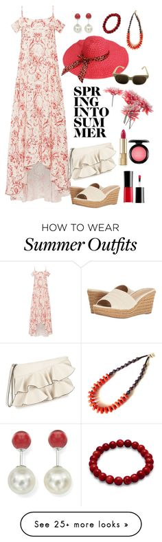 """spring into summer outfit"" by noviandri-ronal on Polyvore featuring Vilshenko, Lauren Ralph Lauren, Miss Selfridge, DaVonna, Dolce&Gabbana, Giorgio Armani, MAC Cosmetics and Missoni"