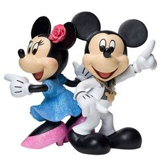 Disney Showcase Collection - Mickey & Minnie Disco Figurine - 1875 points