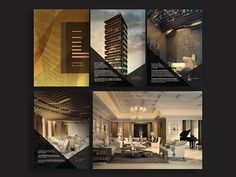 SpellBrand created a fantastic strategy leading to a stunning visual identity and website design for a Jeddah luxury apartment building! Web Design, Website Design, Website Ideas, Design Ideas, Real Estate Ads, Real Estate Branding, Luxury Brochure, Brochure Design, Luxury Branding
