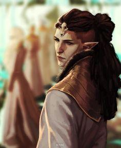 Solas Arlathan Fen'harel Dread wolf DA Dragon Age Inquisition