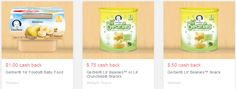 Save over 20% off Gerber This Month - 13 New Coupons