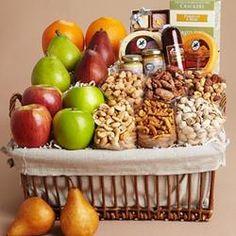 Gourmet Variety Basket  $99.99 #pintowingifts