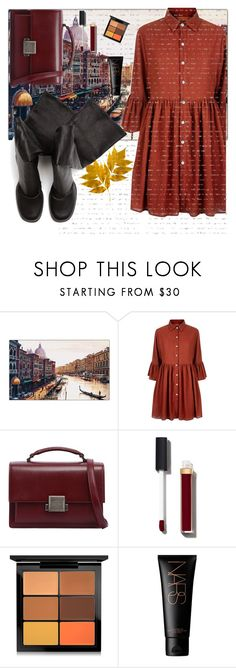 """ShopingInVenice.png"" by laauracmg ❤ liked on Polyvore featuring Trademark Fine Art, Mela Loves London, Yves Saint Laurent, Chanel, MAC Cosmetics and Rick Owens"