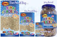 Rodney's Animal Crackers produced in a peanut/tree nut free facility!