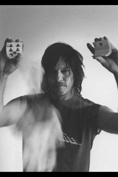 Love this photo of Norman Reedus