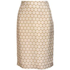 Felipe Oliveira Baptista Spot print pencil skirt ($475) ❤ liked on Polyvore