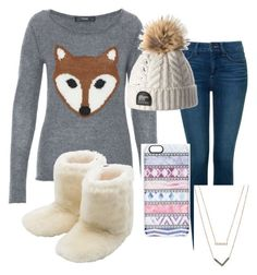 """""""What does the fox Say!!"""" by kaitiebug1111 on Polyvore featuring Hallhuber, NYDJ, M&Co, Casetify and Michael Kors"""