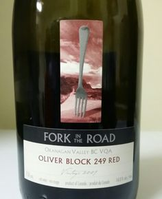 red wine fork in the road oliver block 249 red okanagan canada dr jims wine reviews authentic oak red wine