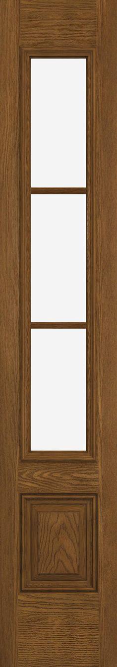 Design pro fiberglass glass panel exterior door jeld wen for Jeld wen fiberglass entry door