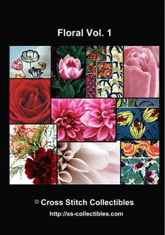 Floral Vol. 1 Cross Stitch DVD by Cross Stitch Collectibles
