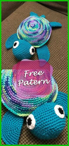 Turtle Amigurumi Free Pattern Tutorial: Here you will find all the instructions to make a crochet turtle. Use the free standard and the video tutorial. Have fun! Turtle Amigurumi Free Pattern Go to… Crochet Diy, Crochet Simple, Crochet Amigurumi Free Patterns, Crochet Animal Patterns, Stuffed Animal Patterns, Crochet Gifts, Crochet Turtle Pattern Free, Beginner Crochet, Crochet Ideas