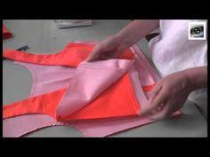 doubler un haut sans manche; vidéo. technique de la cuiller