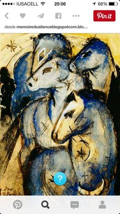 Chagall. Equine  Masterpiece